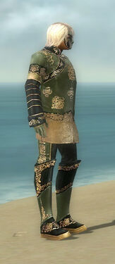 Mesmer Elite Canthan Armor M gray side