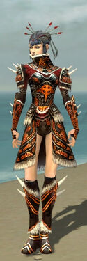 Necromancer Norn Armor F dyed front