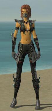Assassin Luxon Armor F gray front