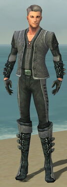 Mesmer Elite Rogue Armor M dyed front
