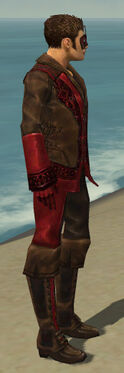 Mesmer Istani Armor M dyed side