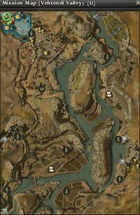 Vehtendi Valley Map