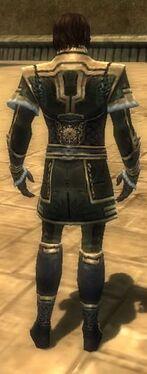 Mesmer Elite Sunspear Armor M gray back