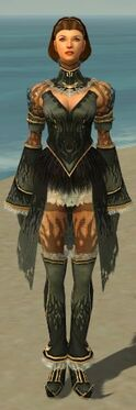Mesmer Primeval Armor F gray front