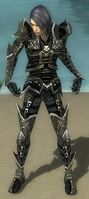 Necromancer Elite Profane Armor M gray front