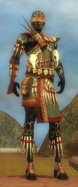 Ritualist Elite Canthan Armor M gray front