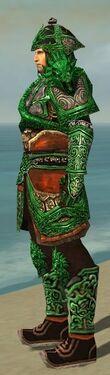 Warrior Elite Canthan Armor M dyed side alternate