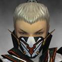 Assassin Elite Kurzick Armor M dyed head front
