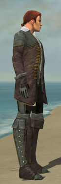 Mesmer Tyrian Armor M gray side
