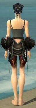 Necromancer Sunspear Armor F gray arms legs back