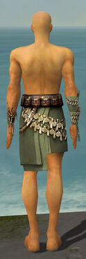 Ritualist Canthan Armor M gray arms legs back