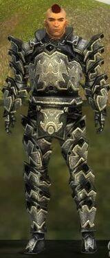 Warrior Obsidian Armor M nohelmet