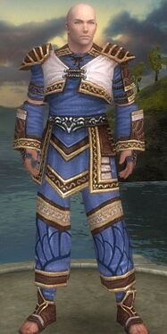 Monk Elite Canthan Armor M dyed front