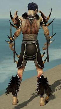 Necromancer Ancient Armor M gray back
