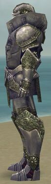 Warrior Platemail Armor M gray side