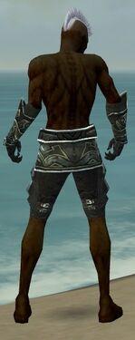 Necromancer Fanatic Armor M gray arms legs back