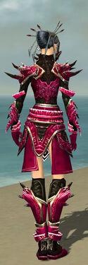 Necromancer Asuran Armor F dyed back