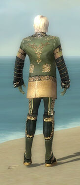 Mesmer Elite Canthan Armor M gray back
