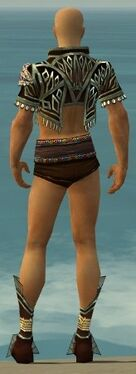 Ritualist Vabbian Armor M gray chest feet back