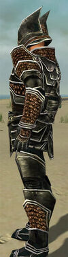 Warrior Kurzick Armor M dyed side