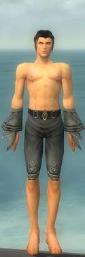 Elementalist Kurzick Armor M gray arms legs front