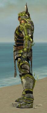 Warrior Elite Sunspear Armor M dyed side