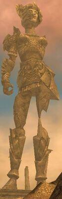 Arid Sea Statue