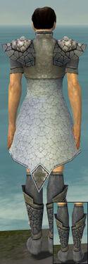 Elementalist Stoneforged Armor M gray chest feet back