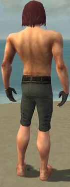 Mesmer Obsidian Armor M gray arms legs back