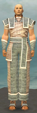 Monk Woven Armor M gray front