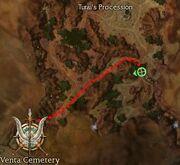 Turai's Procession Collectors Map