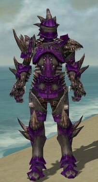 Warrior Primeval Armor M dyed front