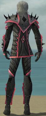 Elementalist Obsidian Armor M dyed back