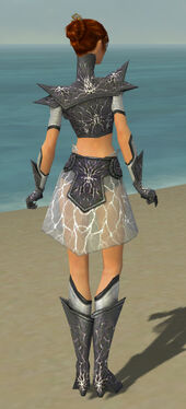 Elementalist Stormforged Armor F gray back