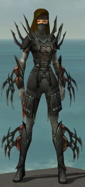 Assassin Ancient Armor F gray front