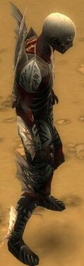 Necromancer Primeval Armor M gray side