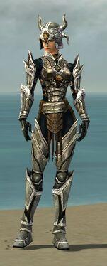 Warrior Elite Sunspear Armor F dyed front