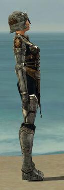 Warrior Sunspear Armor F gray side
