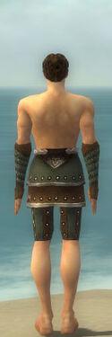 Ranger Elite Studded Leather Armor M gray arms legs back