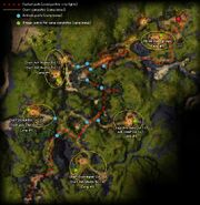 Rise of the White Mantle map