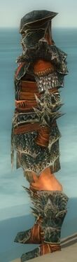 Warrior Luxon Armor M gray side alternate