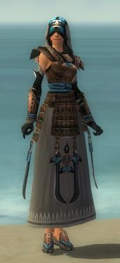 Dervish Monument Armor F gray front