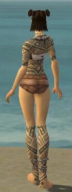 Monk Labyrinthine Armor F gray chest feet back