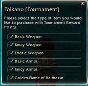 Reward system