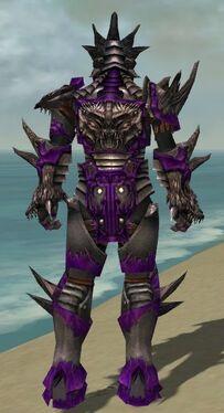 Warrior Primeval Armor M dyed back