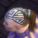 Monk Kurzick Armor M gray head side
