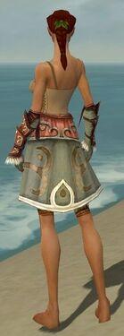Ranger Elite Canthan Armor F gray arms legs back