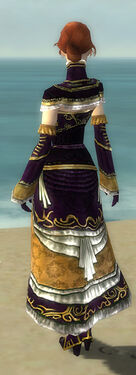 Mesmer Elite Sunspear Armor F dyed back