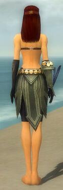 Ritualist Elite Kurzick Armor F gray arms legs back