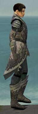 Elementalist Flameforged Armor M gray side